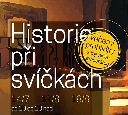 Historie při svíčkách