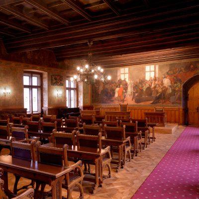 Audienční síň Vlašského dvora